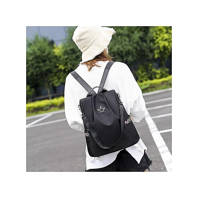 mode Tectores femmes Anti-theft sac à dos Personality Wild Oxford Cloth petit sac à dos à prix pas cher
