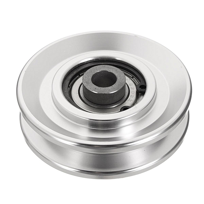 UNIVERSAL Aluminum Bearing Pulley Wheel Cable Gym Fitness Equipment Parts  73mm à prix pas cher