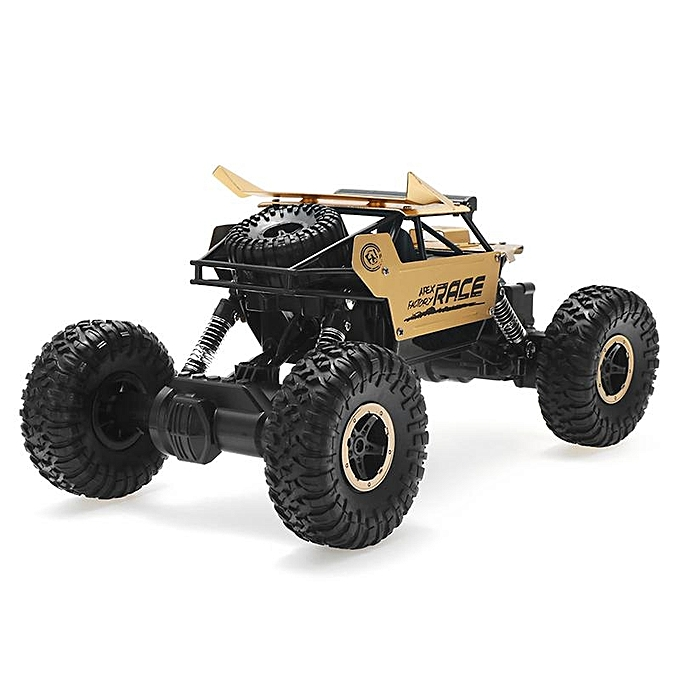 UNIVERSAL Flytec 9118 2.4G 1 18 4WD alloy off-road remote climbing car - or à prix pas cher