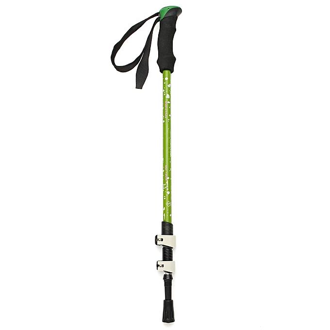 UNIVERSAL 3-Section Carbon Alpenstock Telescopic Nordic Walking Trekking Pole Hiking Stick à prix pas cher
