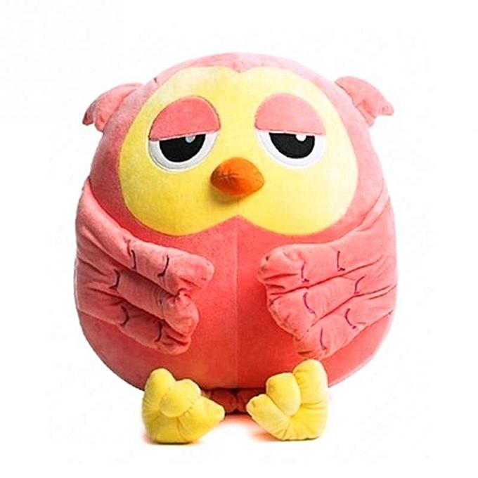 Autre 18CM Cute Short Plush Owl Cute Giant Large stuffed animals Soft Plush Toy Doll Pillow Gift Kids Birthday Gifts toys(vert) à prix pas cher