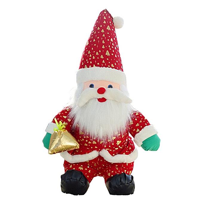 Generic 17 Inch Christmas Plush Dolls Home Ornament Decoration ToysSanta Clause  Doll à prix pas cher