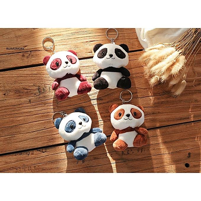 Autre 4Designs   Kawaii CUTE 10cm nouveau Panda Plush Toys , Stuffed Panda Animal Toys Dolls , mariage Gift(10cm) à prix pas cher