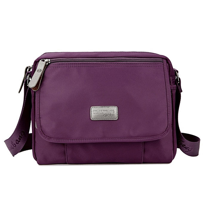 Other High Quality nouveau Solid toile Briefcases Satchel sacs Buckle Décontracté portable Working sac Korean Trend Simple Pack For Hommes femmes(violet) à prix pas cher