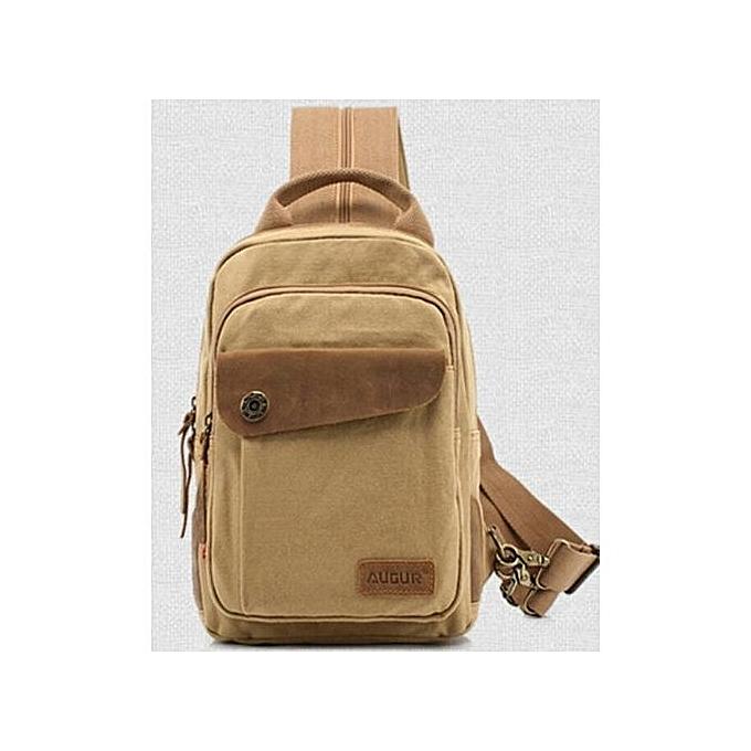 Fashion hommes Pack Vintage Shoulder Bag For Men Canvas Travel Crossbody Bags à prix pas cher