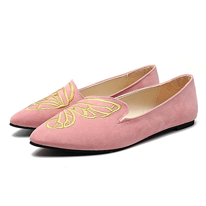 Fashion HOT femmes Boat chaussures Casual Ballet Slip On Flats Loafers Butterfly Single chaussures à prix pas cher    Jumia Maroc