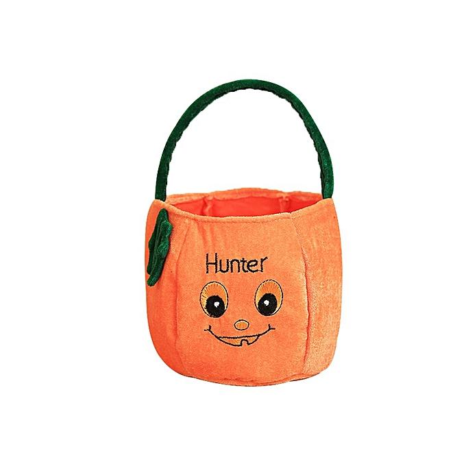 Allwin Décorations Halloween Cadeaux Sacs enfants trois dimensions Sac Citrouille Orange à prix pas cher