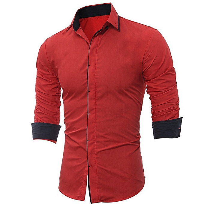 Other Men's Casual Long Sleeved Base Shirts à prix pas cher