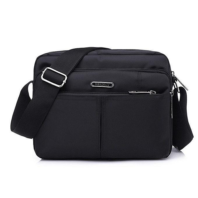 Other DECRJI 2018 Fashion Men Nylon Messenger Bag Waterproof Style Male Shoulder Crossbody Bags Designer High Quality Bolsa Masculina(noir Small) à prix pas cher