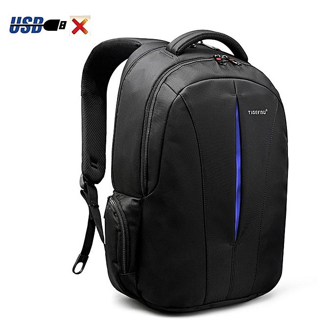 OEM nouveau sac à dos Student College imperméable Nylon Material Hommes sac à dos bleu à prix pas cher