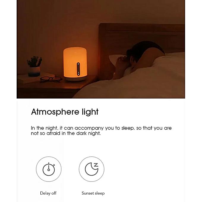 App Table Homekit Wifi Voix Apple Led Smart Mijia Distance Tactile Contrôle Chevet Pour New Siri De A Lampe Ampoule jL45AR