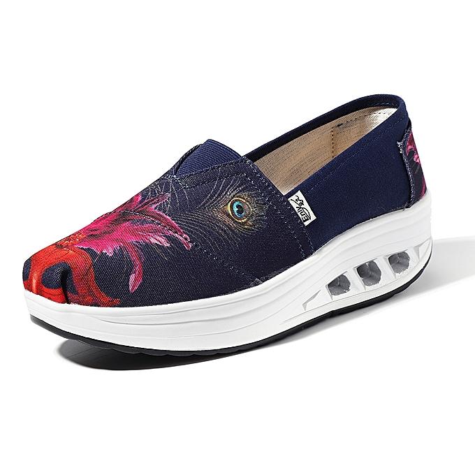 Fashion Casual Slip On Rocker Sole chaussures For femmes à prix pas cher    Jumia Maroc