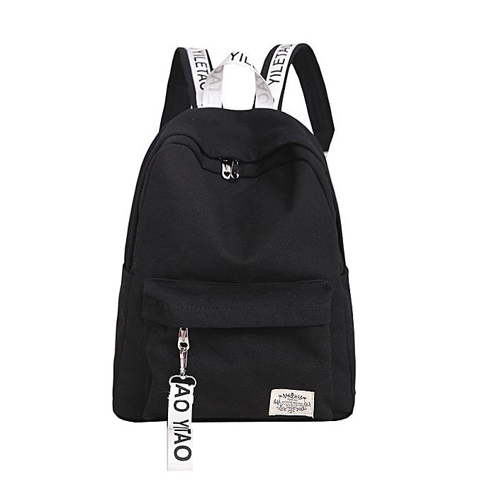 OEM Unisex toile School Style voyage Satchel School sac sac à dos sac BK à prix pas cher