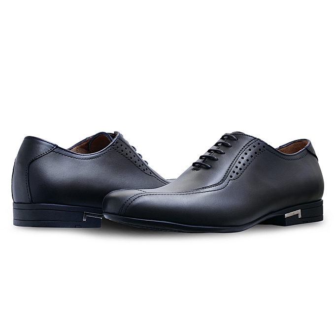 Dayki Chaussures de ville 100% CUIR Y633 NOIR à prix pas cher    Jumia Maroc