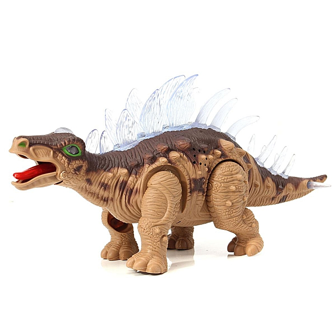 OEM Go battery shipments Stegosaurus dinosaur educational toys simulation Electric à prix pas cher