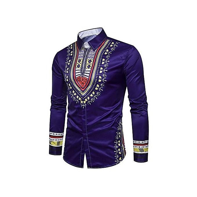 mode nouveau Hommes& 039;s 3D Printed Long-sleeve Shirt Hot Style à prix pas cher