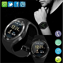 Y1 Smart Watch Bluetooth Montre Connectée de Sport, Écran Tactile, supporte  carte SIM, 85098db55d7