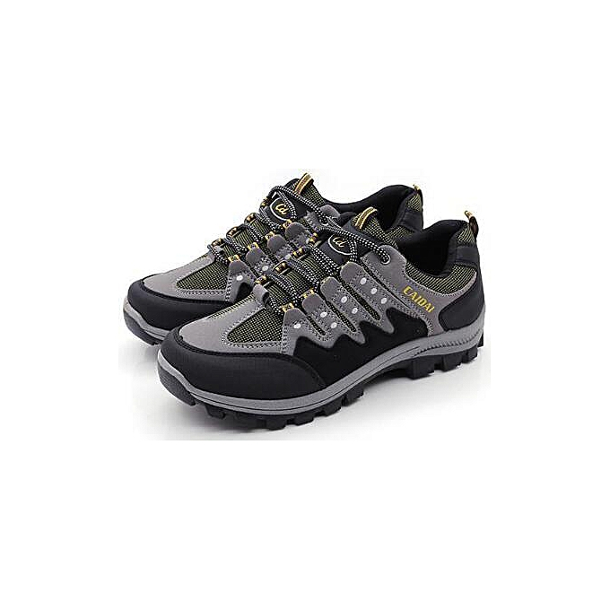 Fashion Men's Hiking Running Waterproof baskets Fitness Casual Walking Outdoor chaussures à prix pas cher