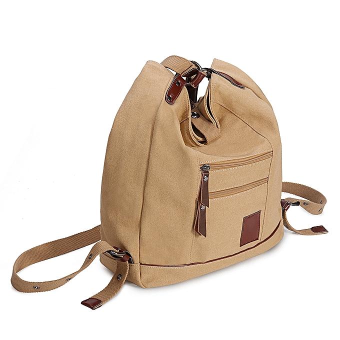 Fashion Brenice femmes Multi-carry Casual Canvas Handbag Shoulder Bag Satchel Backpack à prix pas cher