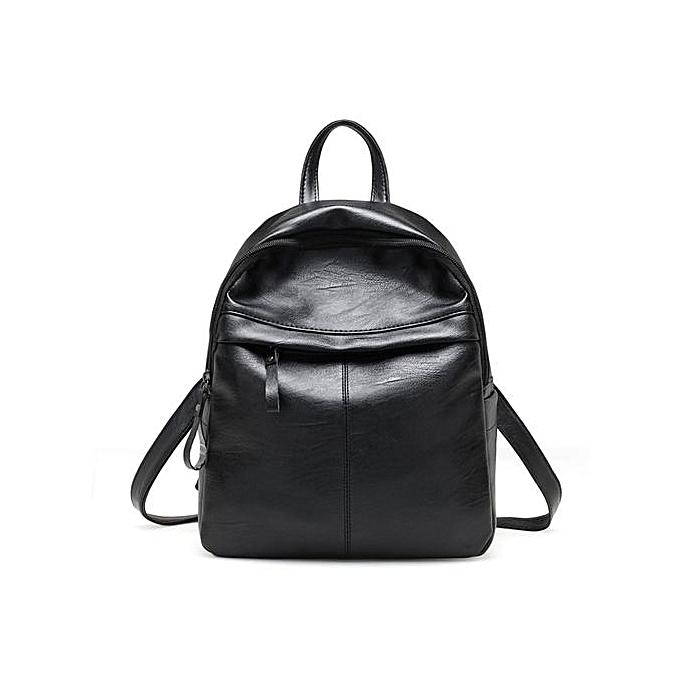 mode Xiuxingzi Wohommes mode cuir Simple School sac voyage sac à dos sac à prix pas cher