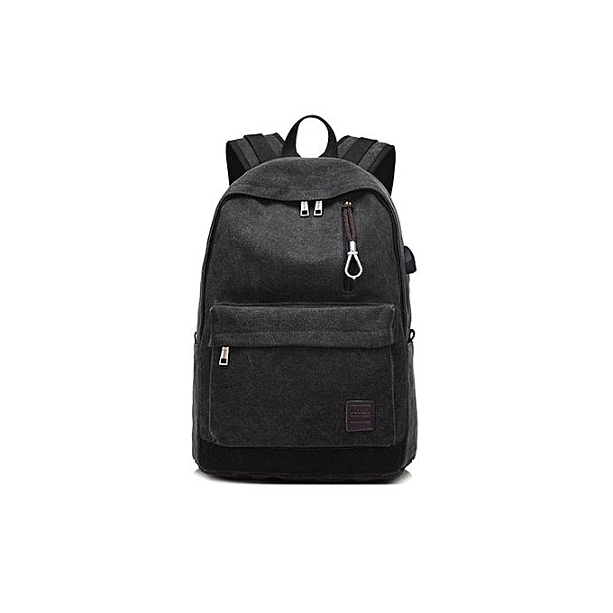 Generic Student Boy Laptop sac à dos School sac School sac à dos Hommes femme voyage sac BK à prix pas cher