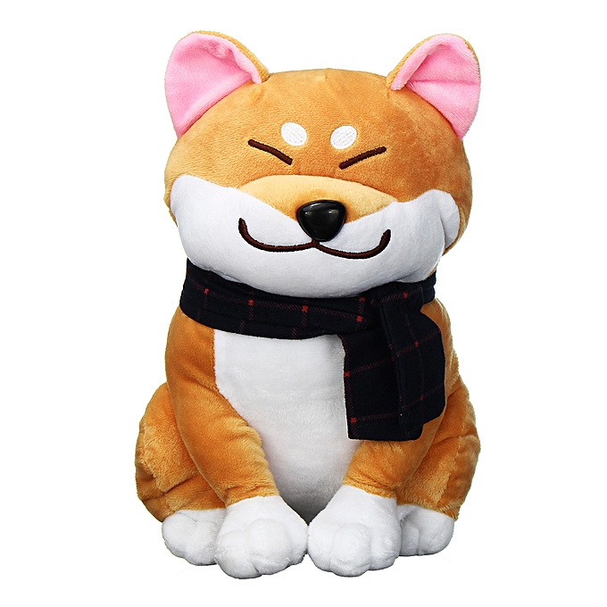 UNIVERSAL Soft Toy Stuffed Animal Cute Shiba Inu Dog   Enfants Toys Gift  à prix pas cher