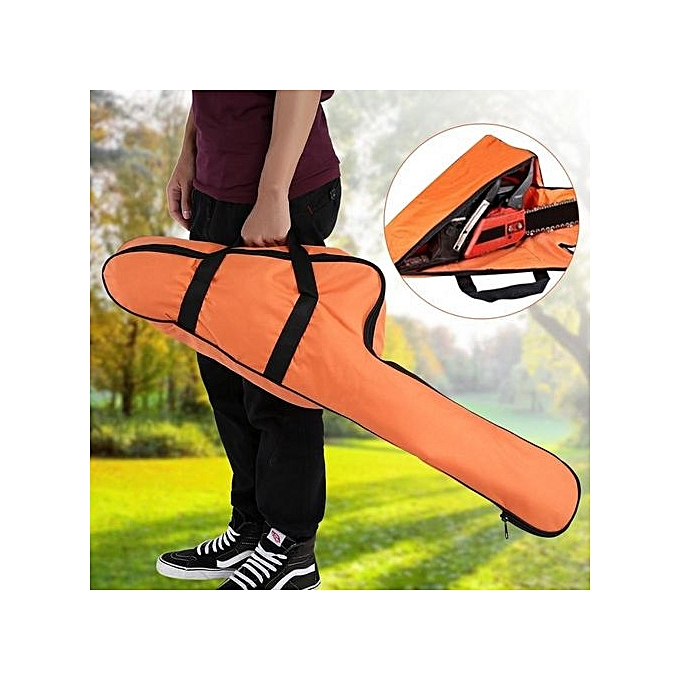 Other Portable Orange Oxford Chainsaw Carrying Bag Case Prougeective Storage Bags Holder à prix pas cher