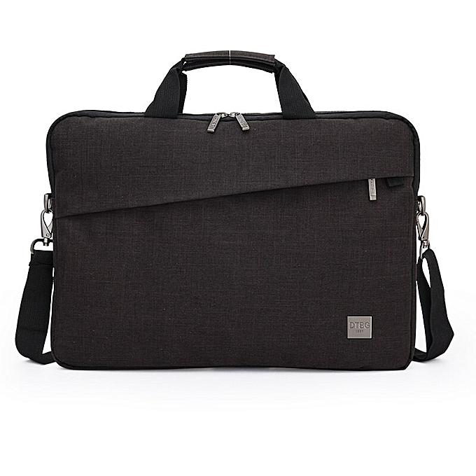 Other 2019 nouveau Pour des hommes Laptop Briefcase Affaires portable Uni Nylon Computer Handsacs Simple Hommes's Office Messenger Simple voyage sacs(13.3 marron) à prix pas cher