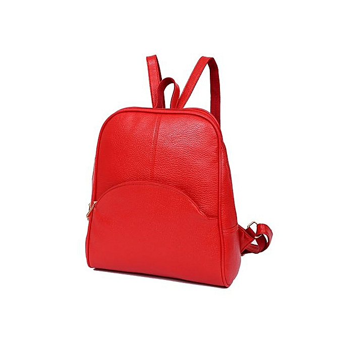 Fashion Singedanfemmes Backpack Softback Bags Bag Preppy Style Bag Casual Teenagers Backpack RD -rouge à prix pas cher
