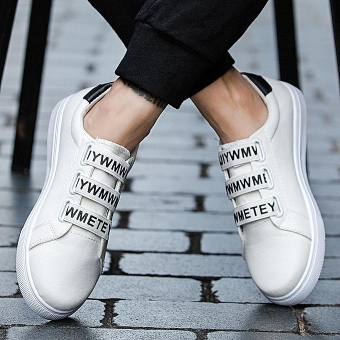 OEM nouveau Décontracté hommes chaussures student tide chaussures hommes chaussures chaussures chaussures Faible chaussures blanc chaussures-blanc à prix pas cher