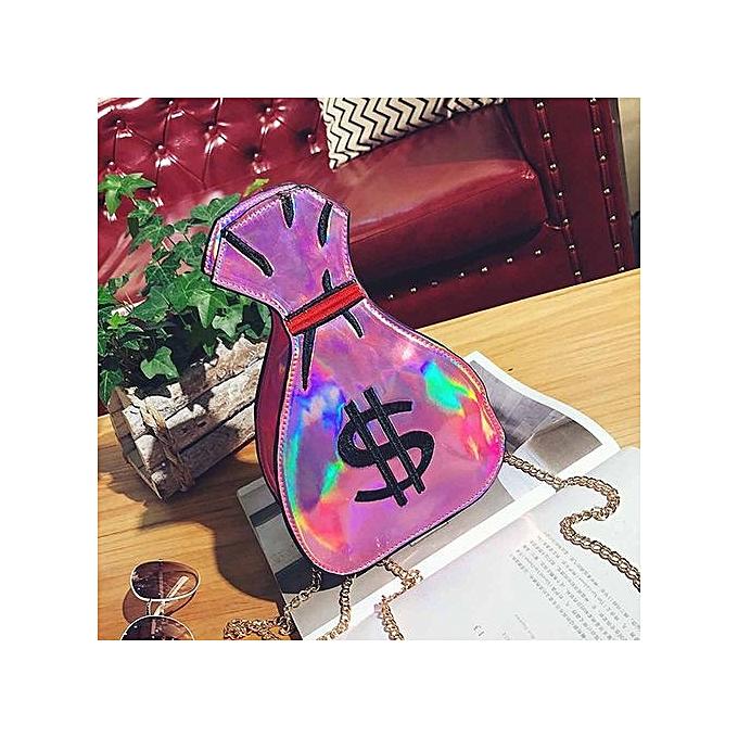 Generic femmes Messenger Bags Fashion Mini Bag Shell Shape Bag femmes Shoulder Bags PK à prix pas cher