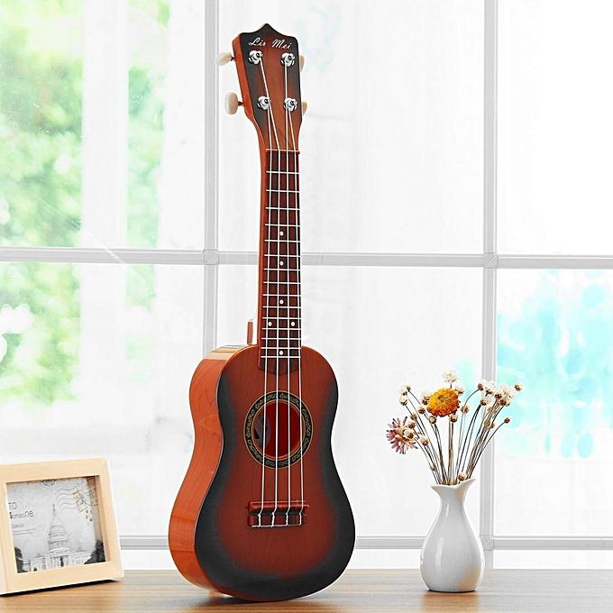 UNIVERSAL Jouet Educatif Guitare 21'' 4 - Marron à prix pas cher