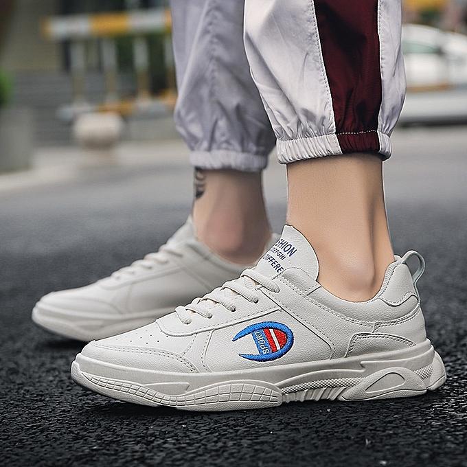 Other nouveau mode Spbague nouveau Hommes's Leisure chaussures Hommes's Korean Trendy Board chaussures Hommes's -Beige à prix pas cher