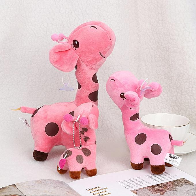 Autre Kawaii Cute Soft Plush voituretoon Animal Giraffe Dear   Enfants Soft Plush Toy Cute Peu   Stuffed Animal High Quality Doll(jaune) à prix pas cher