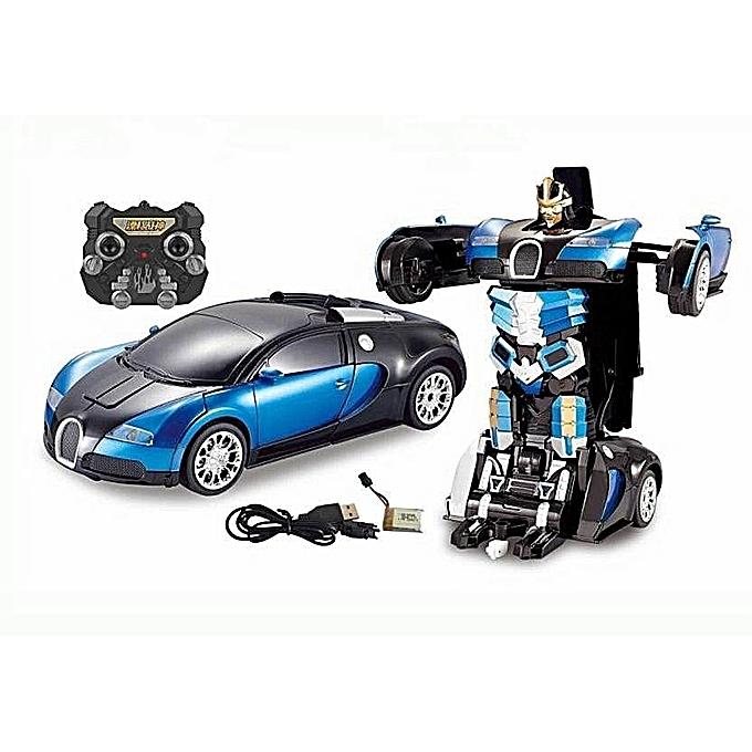 A ta Sant Transforming Autobots Transformers Autobot Télécomhommede Robot Bugatti RC à prix pas cher