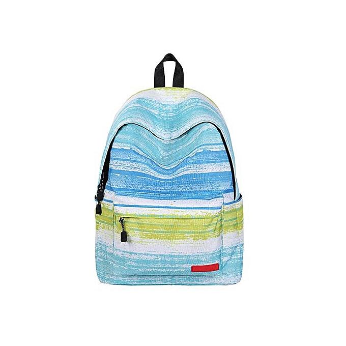 Fashion Singedan Teenage Girls School Backpack Bag Stars Universe Space Printing -C à prix pas cher