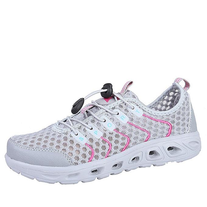 Fashion (Xiuxingzi) femmes Non-slip Mesh Breathable Outdoor Casual chaussures Creek chaussures  Sports chaussures à prix pas cher    Jumia Maroc