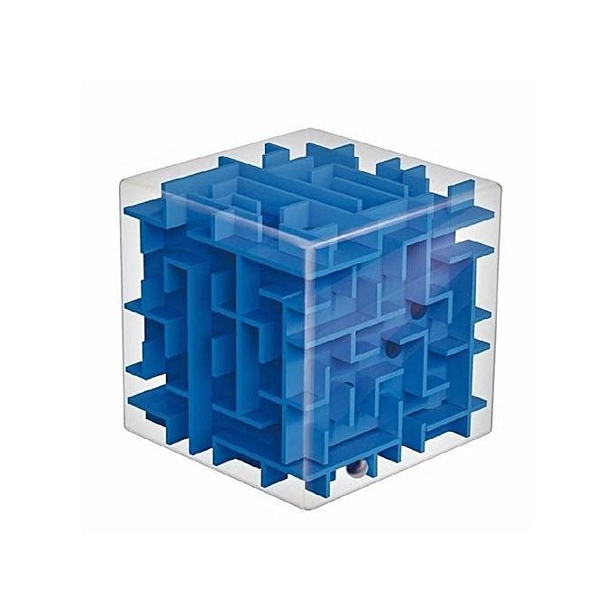 UNIVERSAL Jouet Cube Casse-Tête - Bleu à prix pas cher