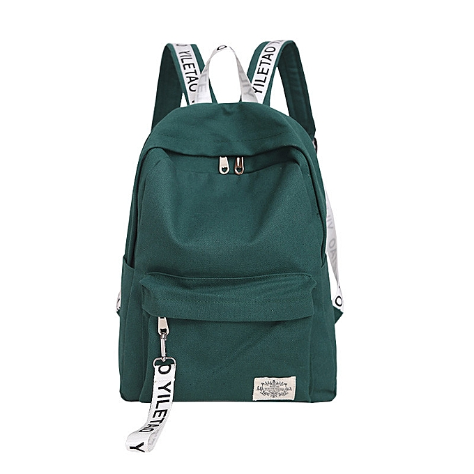 OEM Unisex Canvas School Style Travel Satchel School Bag Backpack Bag AG à prix pas cher