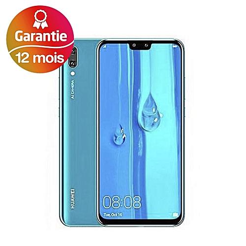 Y9 (2019) - 6 5'' - 64Go - 4Go - 4 Camera - 16 MP - Bleu Saphir