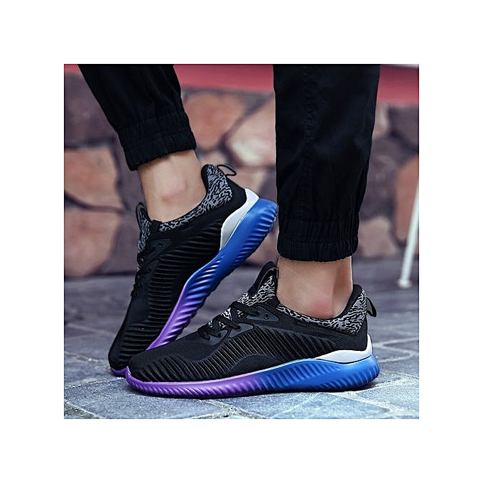 HT  s Breathable Sport Shoes Outdoor Running Jogging Shoes | -Black à prix pas cher  | Shoes Jumia Maroc 8f9576