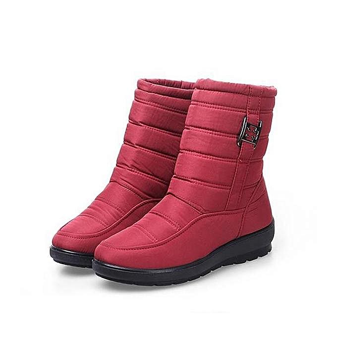 Fashion Cloth Fashion US Size 5-11 Winter WoHommes  Down Cloth Fashion Waterproof Snow Boots Keep Warm Flats à prix pas cher  | Jumia Maroc b64ebd