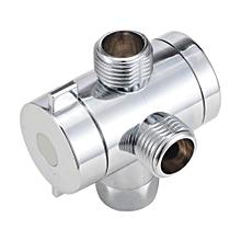Adjustable Shower Head Arm Mounted Diverter 1/2u0026#039;u0026#039;