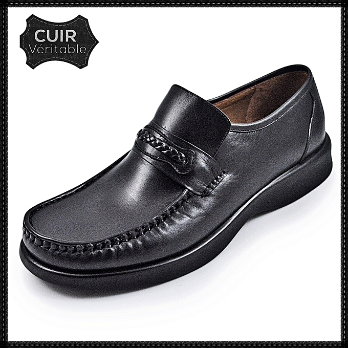 Cuir Chaussure mocassin Boliga Homme chaussure Médical UAxwUaqS