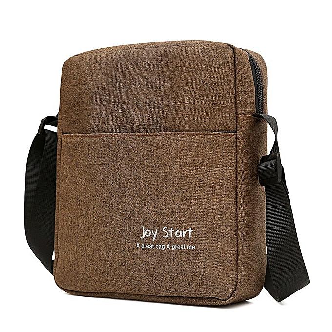 Other Sac A Main Cross Body Hand Crossbody Shoulder For  Male Messenger Bag femmes Men Handbag Document Satchel Bolsas Bolsos Bag(marron) à prix pas cher