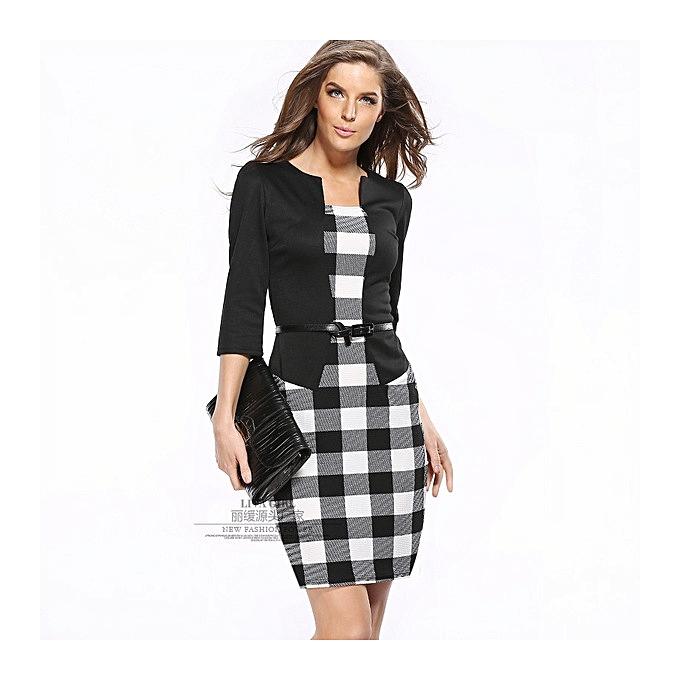 OEM Hot femmes& 039;s professional sac hip pencil mode comfortable Robe-5 à prix pas cher