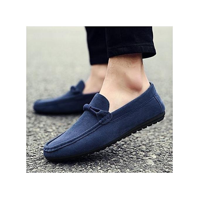 HT  s Soft Loafer Flats Comfy prix Driving Shoes -Blue à prix Comfy pas cher    Jumia Maroc d3465a