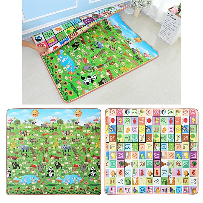 OEM 15mm 2mx1.5m Thick   Play Mat Floor Rug Cushion Crawling Picnic Blanket Gift à prix pas cher