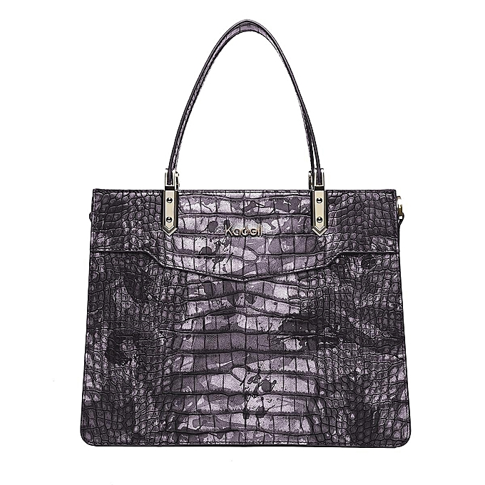UNIVERSAL Kadell crocodile pattern elegant ladies handbag business pack à prix pas cher