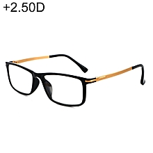 3809f29b19 Black Frame Spring Hinge Anti Fatigue  amp  Blue-ray Presbyopic Glasses